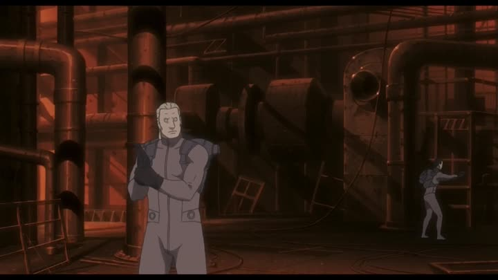Видео: (AniSekai) Ghost in the Shell Stand Alone Complex - 13 [720p Blu-Ray]