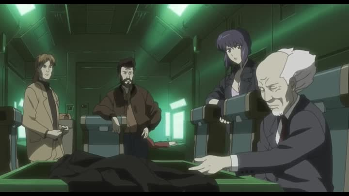 Видео: (AniSekai) Ghost in the Shell Stand Alone Complex - 18 [720p Blu-Ray]