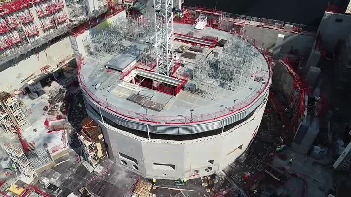 Видео: ITER-by-drone---August-2018