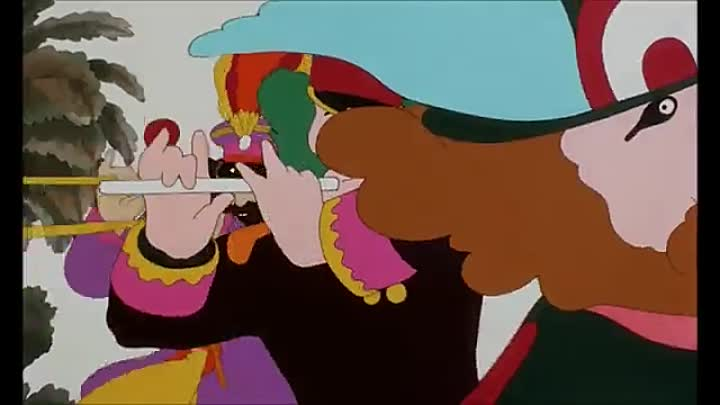 Видео: The Beatles - Sgt Pepper's Lonely Hearts Club Band (From Yellow Submarine)
