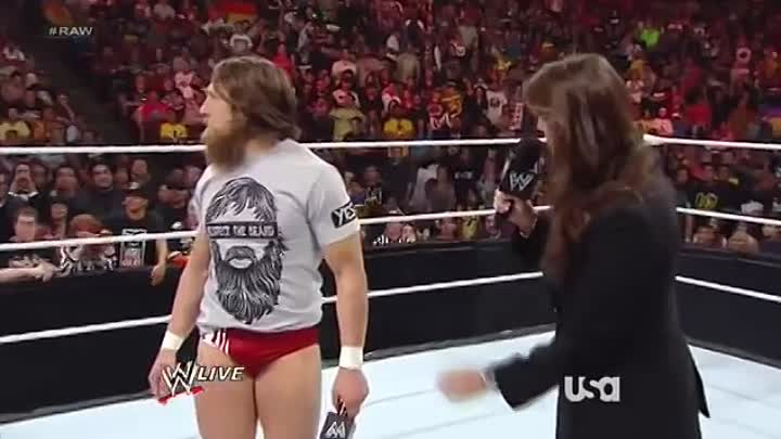 Видео: WWE Monday Night Raw19 08 2013 на русском