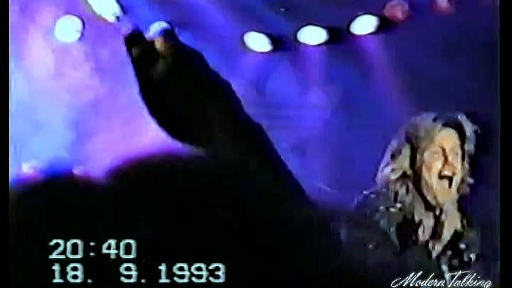Видео: Blue System (Dieter Bohlen) - Midnight Lady /Europa Holle,18.09.1993/ MTW