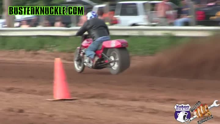 "DIRT DRAG BIKES состязания на ""OPEN THROTTLE 2015"""