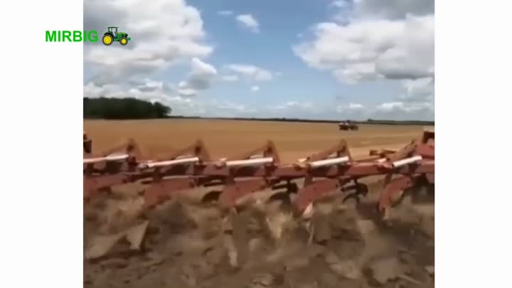 Видео: Amazing equipment, a tractor and heavy machinery that makes it easier for farmers to work