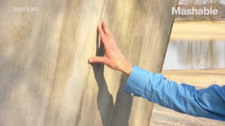 Видео: This concrete can heal itself as if it were alive