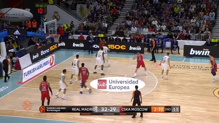Видео: Real Madrid - CSKA Moscow Highlights _ Turkish Airlines EuroLeague RS Round 10