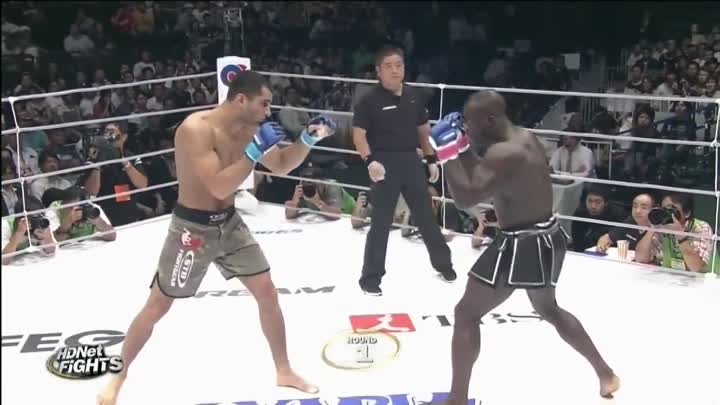 Gegard Mousasi vs Melvin Manhoef