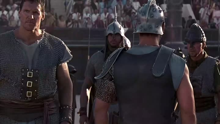 The Spaniard Gladiator's Introduction in the Colosseum to Commodus