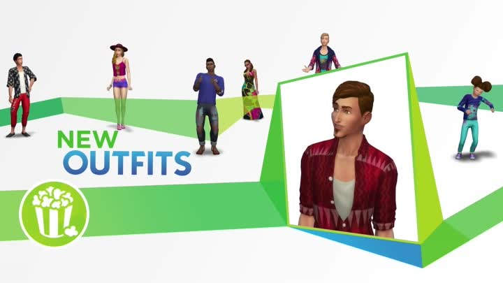 Видео: The Sims 4 Movie Hangout Stuff - Official Trailer ¦ PS4