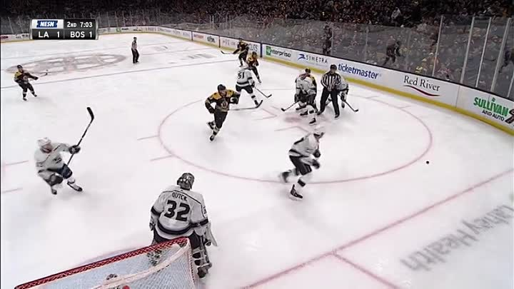 Видео: NHL Regular Season 2018-19, Los Angeles Kings-Boston Bruins