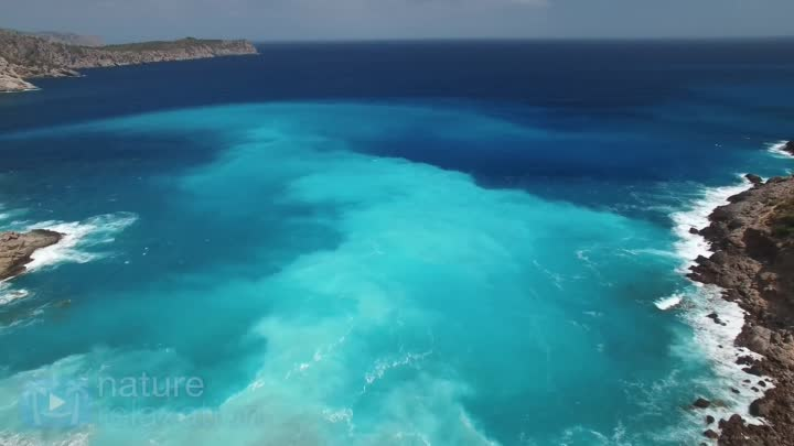 """7 HOUR 4K DRONE FILM """"Earth from Above"""" + Music by Nature"""
