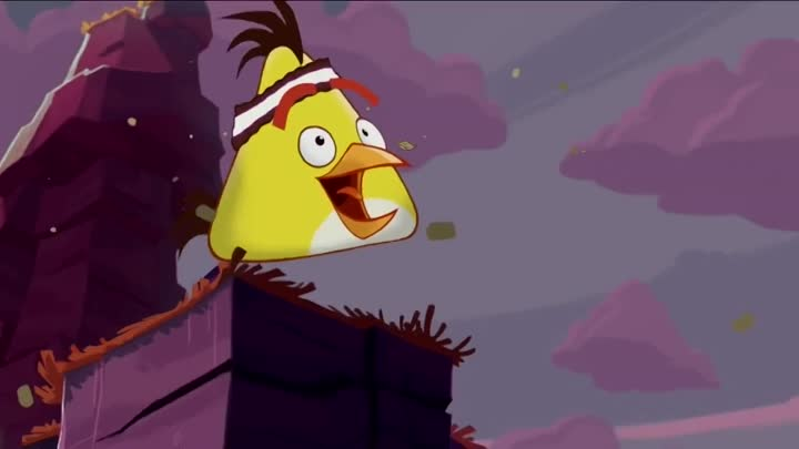 Angry Birds Toons-Chuck Time-