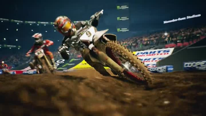 Видео: Monster Energy Supercross - The Official Videogame 2 - Launch Trailer