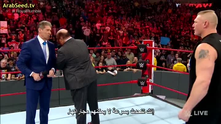 Видео: [cinema4tv] WWE.RAW.2019.01.21.720p.HDTV by zizo egy