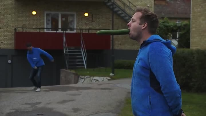 Cucumber In Mouth (Tumba Ping Pong Show)