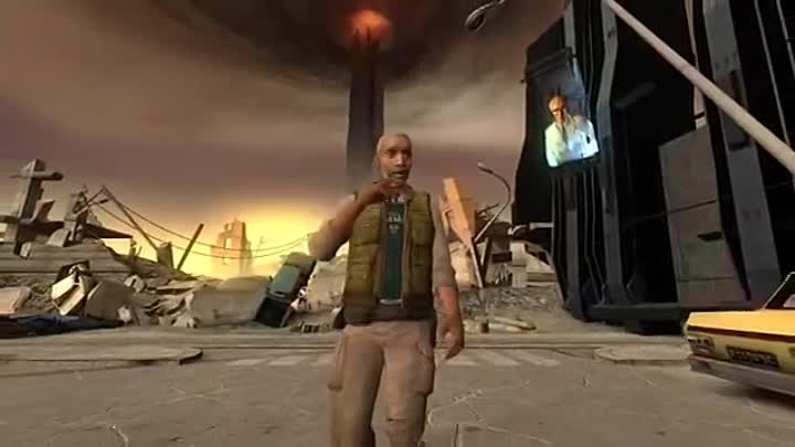 Видео: In The Virtual End (Linkin Park HL2 music video)
