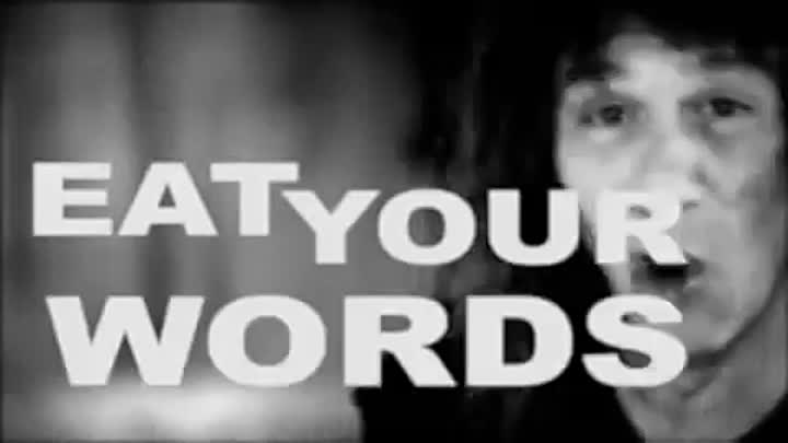 ANVIL - Eat Your Words (Official Video)