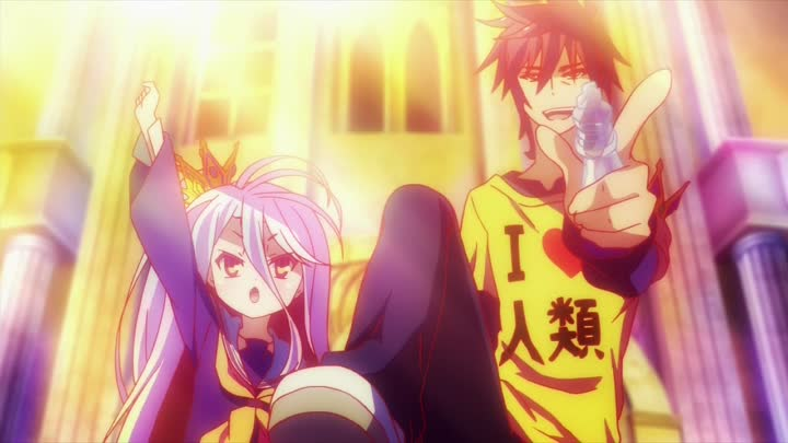 Видео: Аниме: Maken ki, No game No life Музыка: Genesis - I can`t dance (remix)