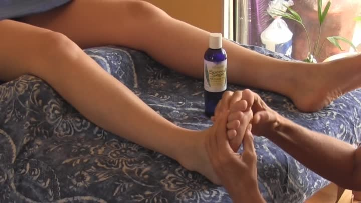 How To Massage Foot, Relaxing Massage Therapy Techniques For Feet