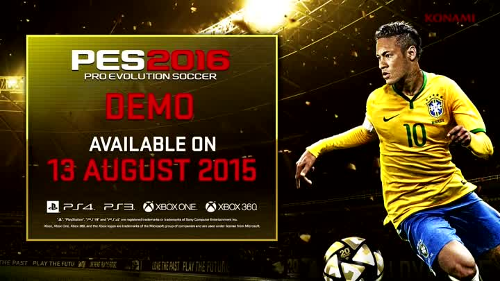 Видео: [Official] PES 2016 Gameplay Trailer- GC 2015