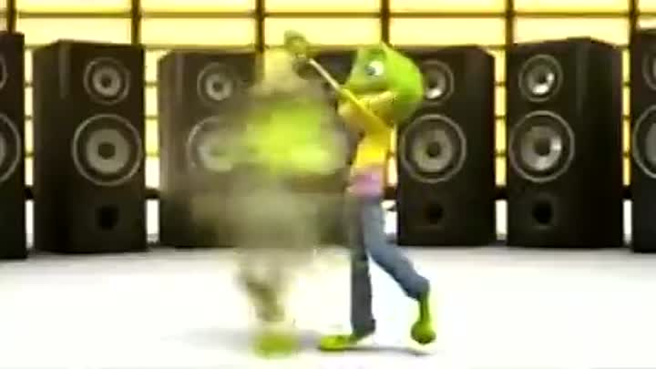 Видео: Crazy Frog - The Ding Dong Song