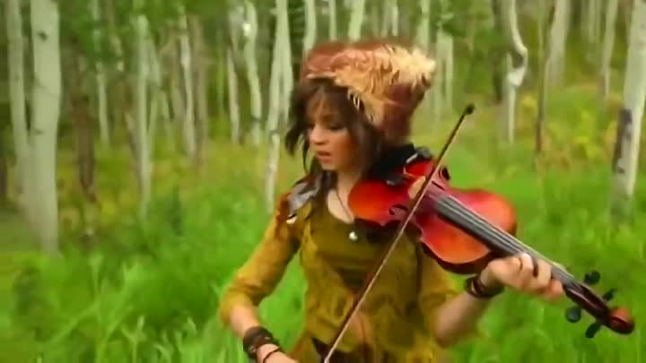 Дабстеп и скрипка. Lindsey Stirling