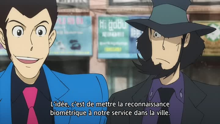 Видео: [GSK][SNC]Lupin_III_Part_V_14_VOSTFR_720p_8bits(Comment voler un royaume)