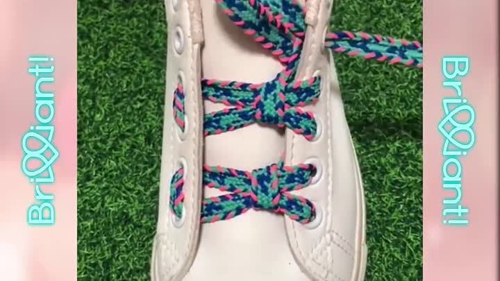 Видео: 20 Creative Ways to fasten Shoelaces - Cool ideas how to tie shoe laces #2