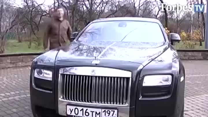 Эмин Агаларов за рулем самого мощного Rolls-Royce Ghost
