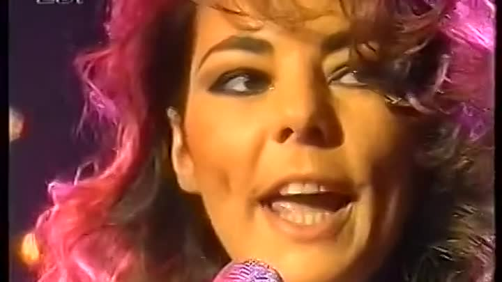 Sandra - Don't Be Aggressive + Johnny Wanna Live (Peters Pop Show 1992)