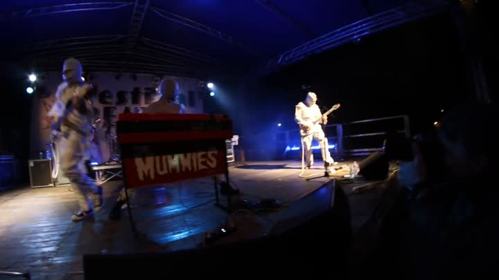 Видео: The Mummies live @ Festival Beat 25