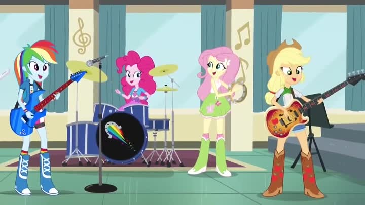 [RUS SONG] Equestria- Girls Rainbow Rocks - 'Better than ever' (OST) (Озвучка от GALA Voices) (1)