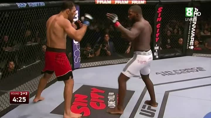 Энтони Джонсон - Рожерио Ногейра (26.07.2014) UFC on FOX 12. Anthony Johnson vs Rogerio Nogueira