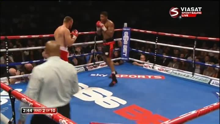 Anthony Joshua vs Denis Bakhtov