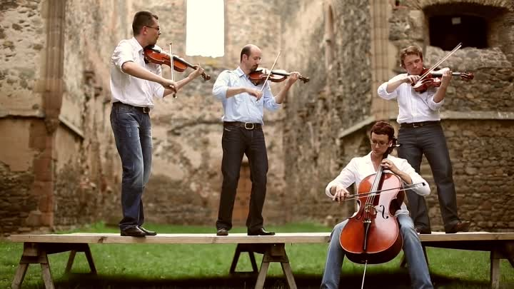 Coldplay - Viva La Vida violin instrumental cover - string quartet
