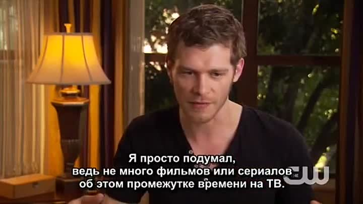 "Видео: ""Дневники Вампира"" - Джозеф Морган CW Connect - Joseph Morgan"