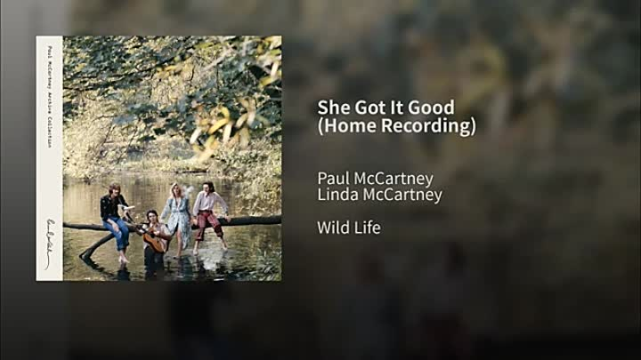 Видео: Paul McCartney - She Got It Good -1971