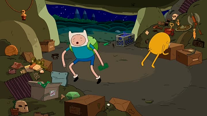 Adventure.Time.S04.E01. Горячо на ощупь (Hot to the Touch)