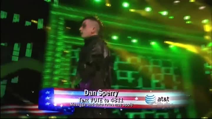 Видео: America's Got Talent 2010 - Dan Sperry