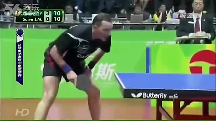 Видео: The Funniest Table Tennis Match in HISTORY