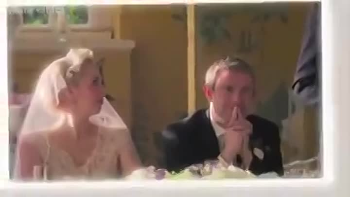 Видео: Sherlock's wedding video - Sherlock- Series 3 - BBC One