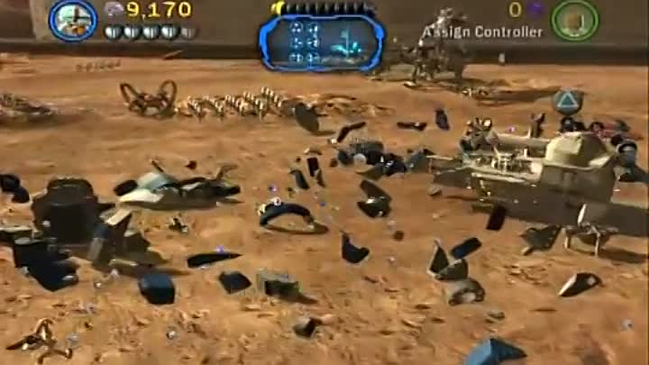 Видео: Lego Star Wars 3 Walkthrough - Part 08 - Battle of Geonosis (Story Mode)