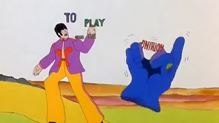 Видео: THE BEATLES - All you need is love (OST from YELLOW SUBMARINE)