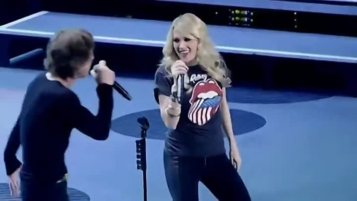 Rolling Stones with Carrie Underwood - It s Only Rock & Roll`2013 (SD)