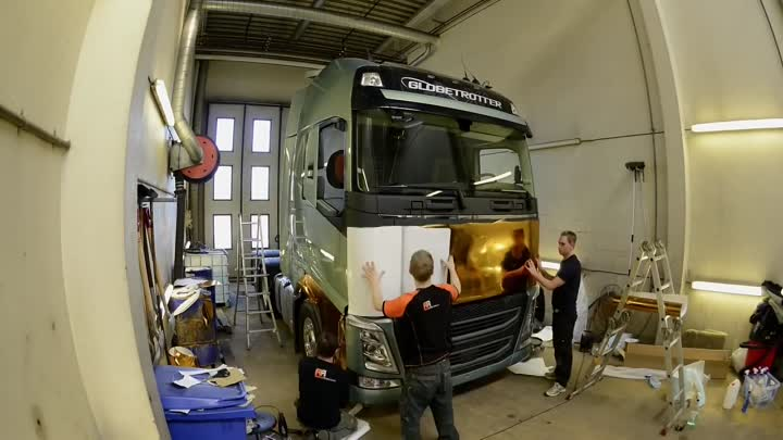 Volvo FH turns into GOLD