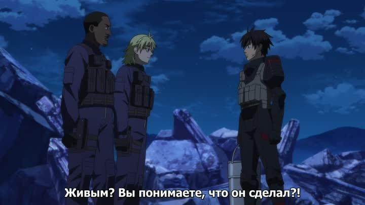 Видео: Стальная тревога! (Full Metal Panic! Invisible Victory) 8 серия (2018) ТВ-4 [Субтитры]