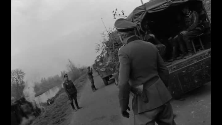 """Видео: Post D-Day, 1944, during WWII, in NE France - « Beauty belongs to the man who can appreciate it"""" he claimed»"""