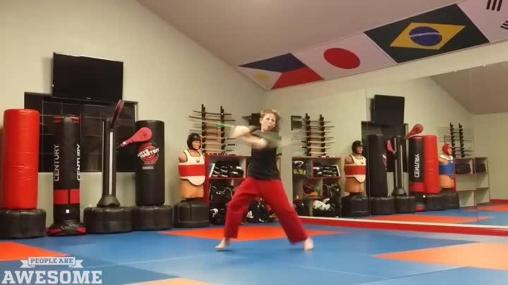 Видео: PEOPLE_ARE_AWESOME__Martial_Arts_Edition_