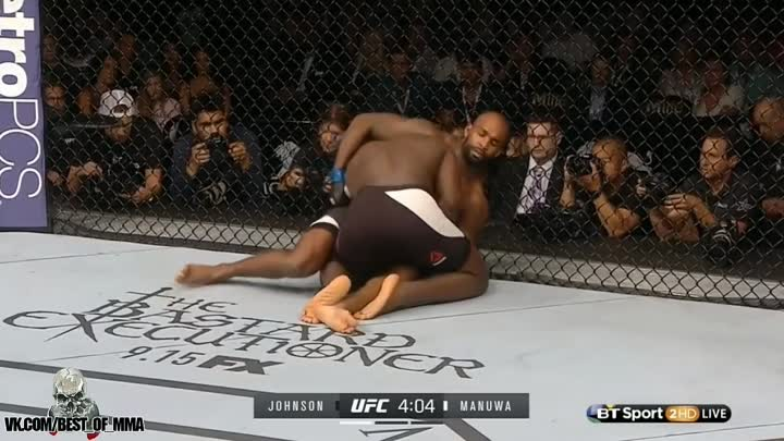 Anthony Johnson vs. Jimi Manuwa