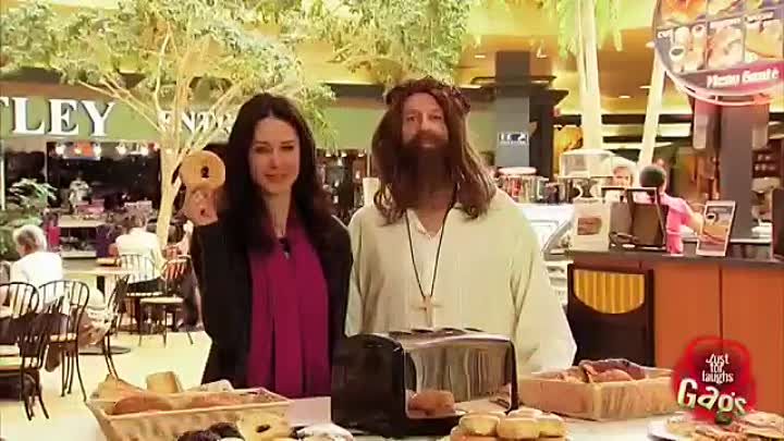 Видео: ПРИКОЛЫ---Best of Just For Laughs Gags - Best Jesus Pranks